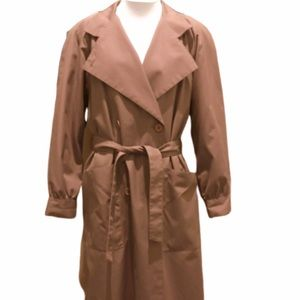 Vintage Tan/taupe colored trench coat